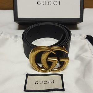 Gucci gold brass belt